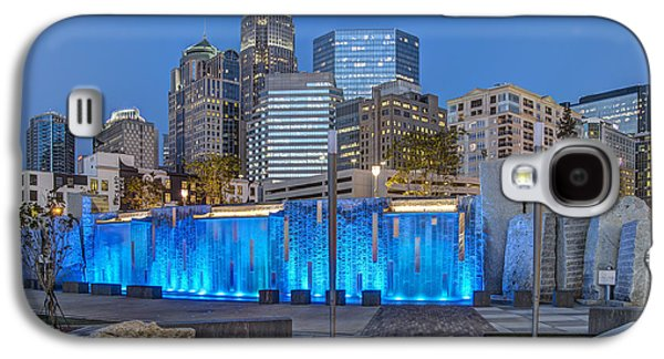 Charlotte Galaxy S4 Cases - Bearden Blue Galaxy S4 Case by Chris Austin