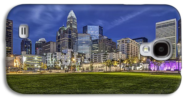 Charlotte Galaxy S4 Cases - Bearden Park Galaxy S4 Case by Chris Austin