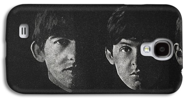Beatles Galaxy S4 Cases - Beatles faces Galaxy S4 Case by Gina Dsgn