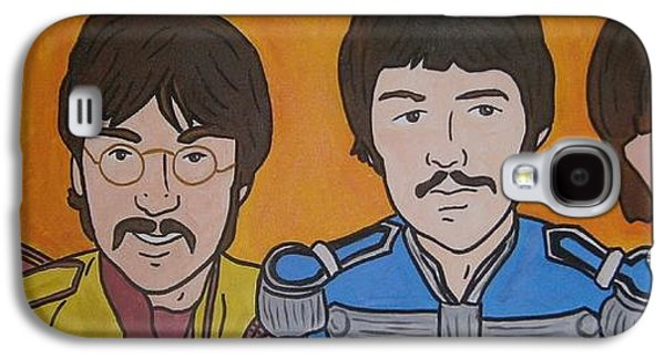 Beatles Galaxy S4 Cases - Beatles Galaxy S4 Case by Neal Crossan