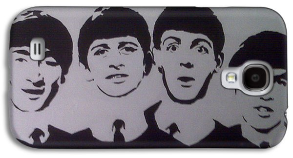 Ringo Starr Paintings Galaxy S4 Cases - Beatles Galaxy S4 Case by Tamir Barkan