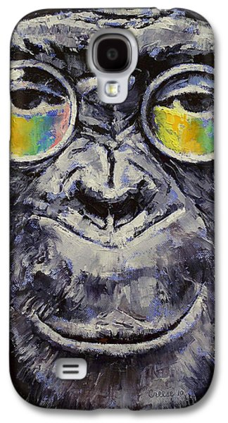 John Lennon Paintings Galaxy S4 Cases - Beatnik Galaxy S4 Case by Michael Creese