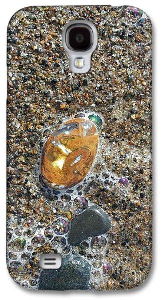 Agate Beach Oregon Galaxy S4 Cases - Beautiful Beach Agate Galaxy S4 Case by Laura Joki