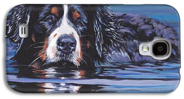Recently Sold -  - Puppies Galaxy S4 Cases - Beautiful Berner Galaxy S4 Case by Lee Ann Shepard