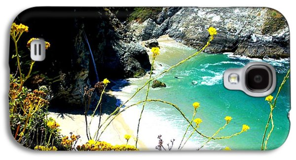 Picture Of Big Sur Beach Galaxy S4 Cases - Beautiful Big Sur Galaxy S4 Case by Marin Packer