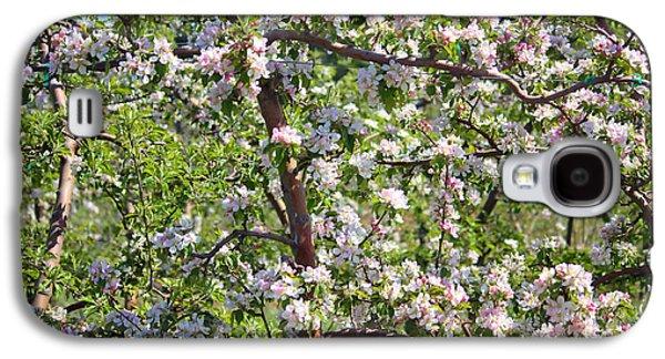 Yakima Valley Galaxy S4 Cases - Beautiful Blossoms - Digital Art Galaxy S4 Case by Carol Groenen