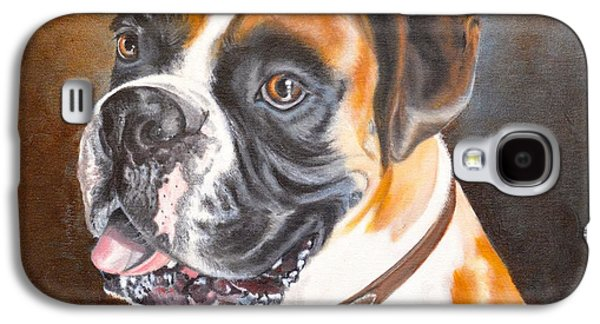 Boxer Galaxy S4 Cases - Beautiful Boxer Galaxy S4 Case by Judith Killgore