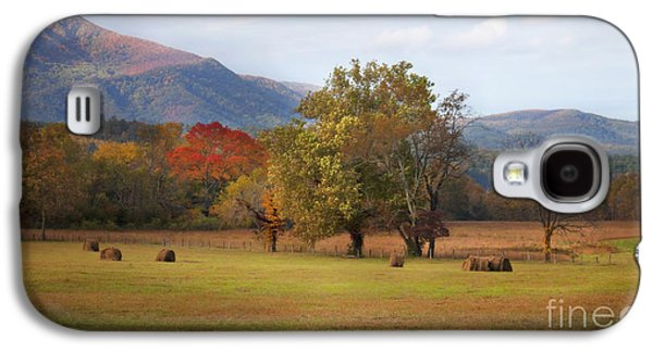Tennessee Hay Bales Galaxy S4 Cases - Beautiful Cades Cove Galaxy S4 Case by Lena Auxier