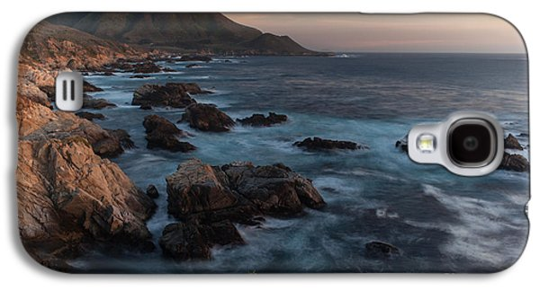 Big Sur Beach Galaxy S4 Cases - Beautiful California Coast in Spring Galaxy S4 Case by Mike Reid