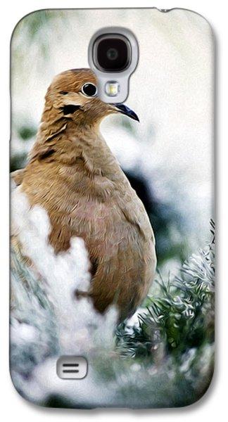 Rollosphotos Digital Galaxy S4 Cases - Beautiful Dove Galaxy S4 Case by Christina Rollo