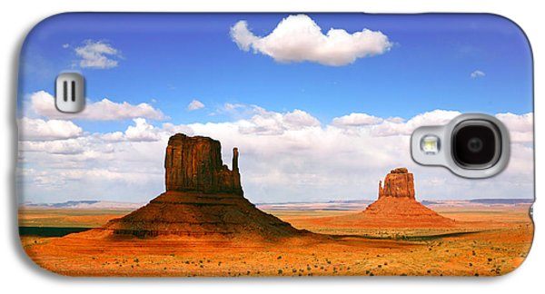 Americans Pyrography Galaxy S4 Cases - Beautiful Landscape of  Monument Valley Arizona Galaxy S4 Case by Katrina Brown