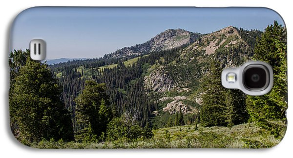 Surreal Landscape Galaxy S4 Cases - Beautiful Mountains Galaxy S4 Case by Robert Bales