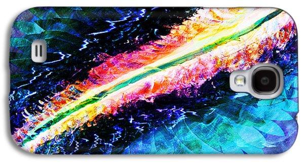 Abstract Digital Mixed Media Galaxy S4 Cases - Beautiful Path Galaxy S4 Case by Atousa Raissyan