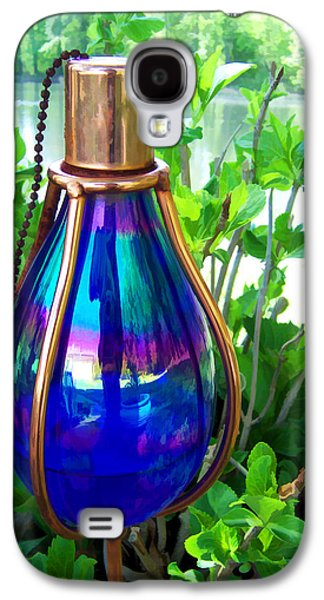 Oil Slick Digital Galaxy S4 Cases - Beautiful Reflections Galaxy S4 Case by Kathy Clark
