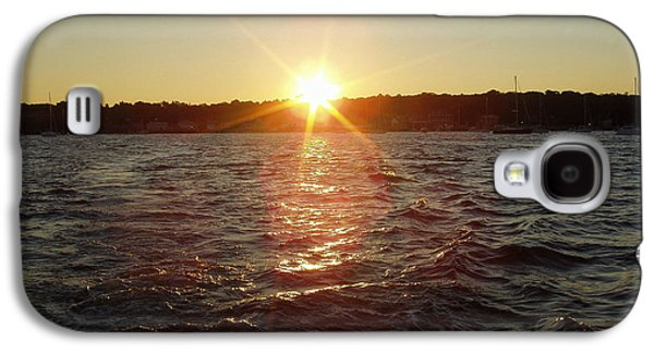 Landscapes Photographs Galaxy S4 Cases - Beautiful Sunrise for a Day of Fishing Galaxy S4 Case by John Telfer