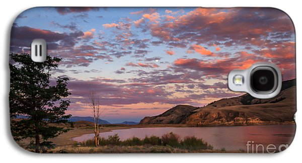 Evening Scenes Photographs Galaxy S4 Cases - Beautiful Sunset Over Mackay Reservoir Galaxy S4 Case by Robert Bales