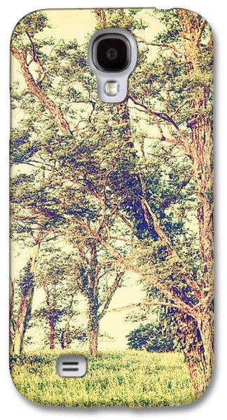 Original Photographs Galaxy S4 Cases - Beautiful Trees in the Blue Ridge Galaxy S4 Case by Dan Carmichael
