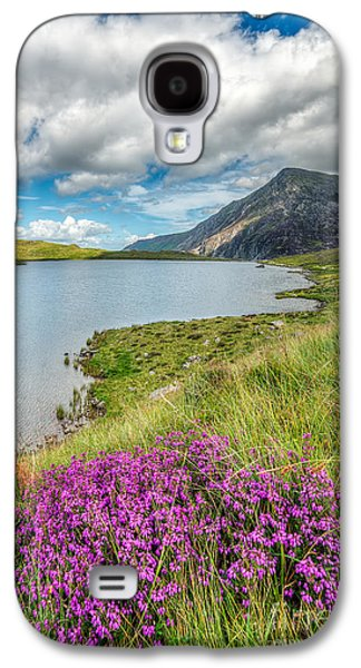 Clouds Digital Art Galaxy S4 Cases - Beautiful Wales Galaxy S4 Case by Adrian Evans