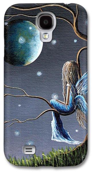 Stunning Galaxy S4 Cases - Fairy Art Print - Original Artwork Galaxy S4 Case by Shawna Erback
