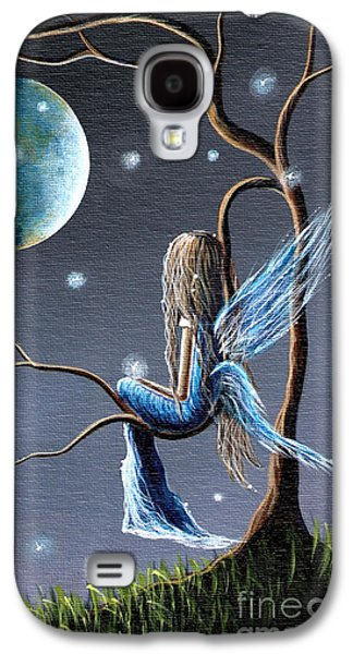 Fantasy Paintings Galaxy S4 Cases - Fairy Art Print - Original Artwork Galaxy S4 Case by Shawna Erback