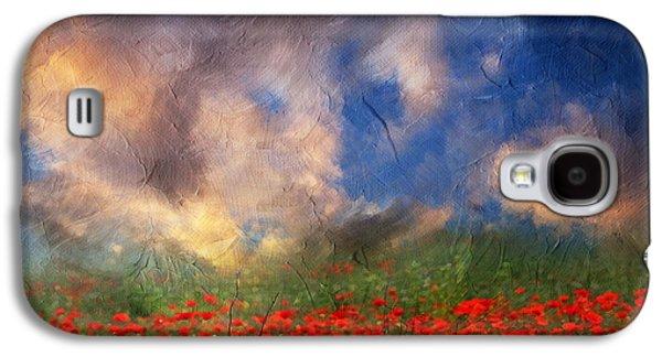 Storm Prints Mixed Media Galaxy S4 Cases - Beauty And The Beast Of Nature Galaxy S4 Case by Georgiana Romanovna