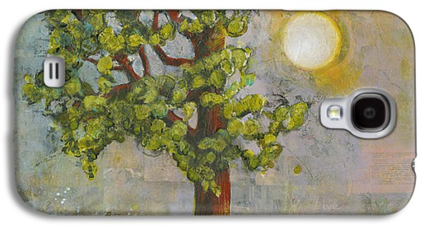 Sunny Mixed Media Galaxy S4 Cases - Beauty in Imperfection Galaxy S4 Case by Blenda Studio