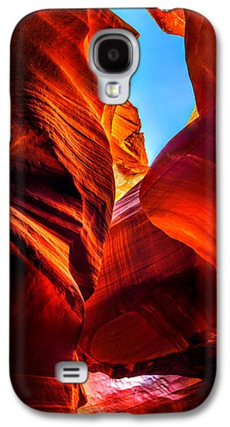 Abstract Nature Galaxy S4 Cases - Beauty Within Galaxy S4 Case by Az Jackson