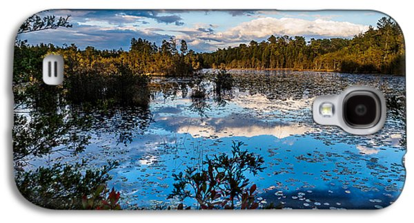 Pine Barrens Galaxy S4 Cases - Beaver Pond - Pine Lands NJ Galaxy S4 Case by Louis Dallara