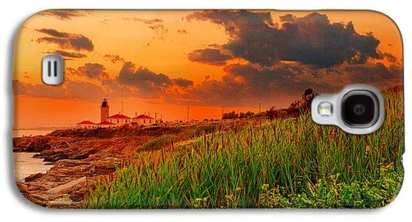 Setting Galaxy S4 Cases - Beavertail Spectacular- Beavertail State Park Rhode Island Galaxy S4 Case by Lourry Legarde