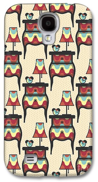 Drawers Galaxy S4 Cases - Bedtime story Pattern Galaxy S4 Case by Freshinkstain