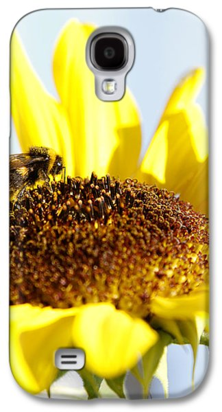 Pollinate Galaxy S4 Cases - Bee and flower Galaxy S4 Case by Les Cunliffe