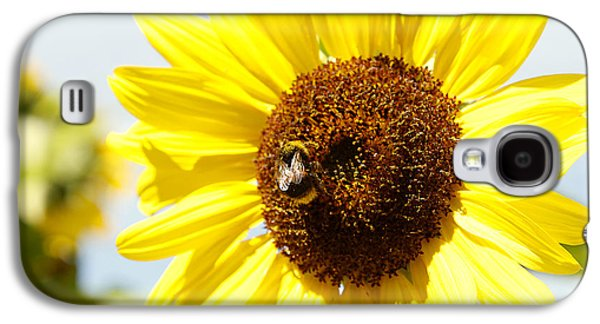 Pollinate Galaxy S4 Cases - Bee Galaxy S4 Case by Les Cunliffe