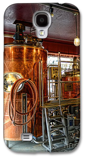 Hand Crafted Galaxy S4 Cases - Beer - The Brew Kettle Galaxy S4 Case by Paul Ward