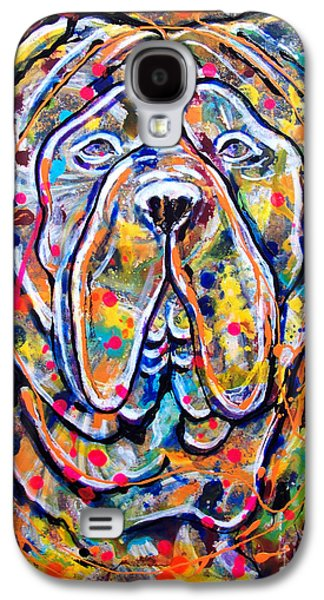 Recently Sold -  - Boxer Galaxy S4 Cases - Beethoven - Saint Bernard Galaxy S4 Case by Sergey Malkov
