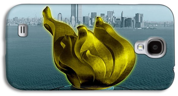 Photo Digital Art Galaxy S4 Cases - Before 9.11 Galaxy S4 Case by Gary Grayson