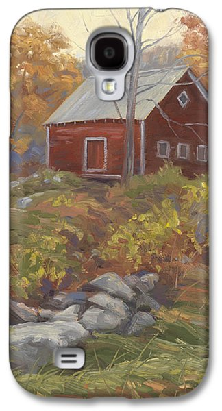 New England Barns Galaxy S4 Cases - Before Sunrise Galaxy S4 Case by Lucie Bilodeau