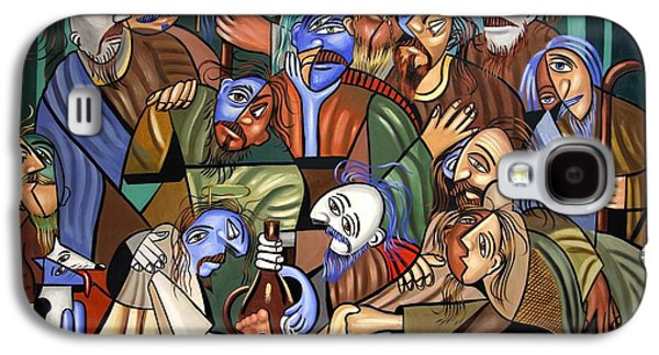 Last Supper Galaxy S4 Cases - Before The Last Supper Galaxy S4 Case by Anthony Falbo