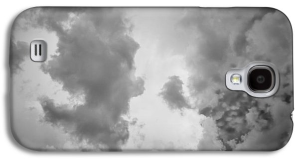 Light Galaxy S4 Cases - Before the Storm Clouds Stratocumulus 3 Galaxy S4 Case by Rich Franco