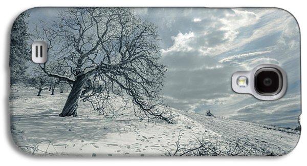 Snow Scene Landscape Galaxy S4 Cases - Begin the melting procedure Galaxy S4 Case by Chris Fletcher