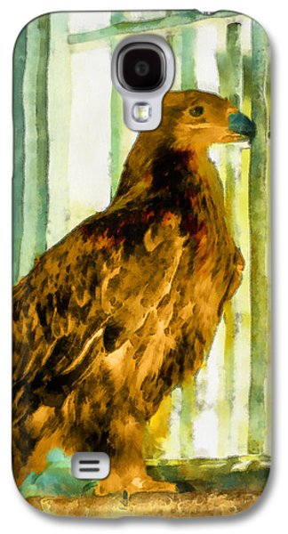 Jail Paintings Galaxy S4 Cases - Behind bars Galaxy S4 Case by George Rossidis