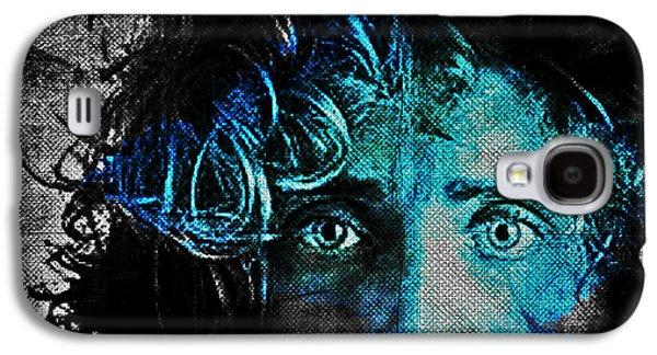 Inner Self Digital Art Galaxy S4 Cases - Behind Blue Eyes - The Who Galaxy S4 Case by Absinthe Art By Michelle LeAnn Scott