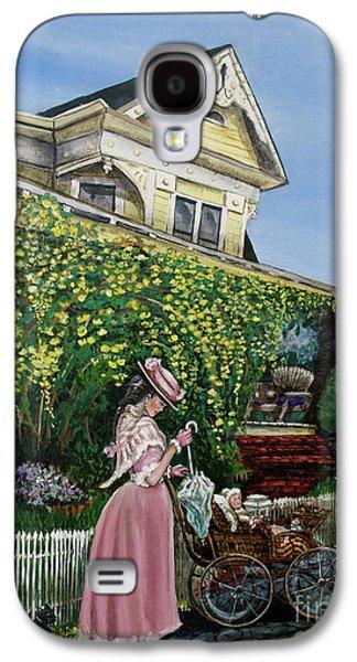 Behind The Garden Gate Galaxy S4 Case by Linda Simon