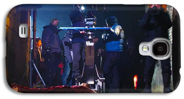 Behind The Scenes Digital Galaxy S4 Cases - Behind the Scenes Filming Galaxy S4 Case by Lesley DeHaan