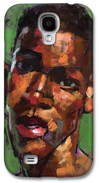 African-american Galaxy S4 Cases - Being Manuel Galaxy S4 Case by Douglas Simonson