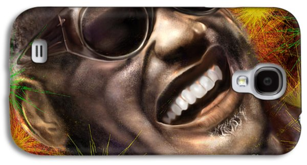 Being Ray Charles1 Galaxy S4 Case by Reggie Duffie