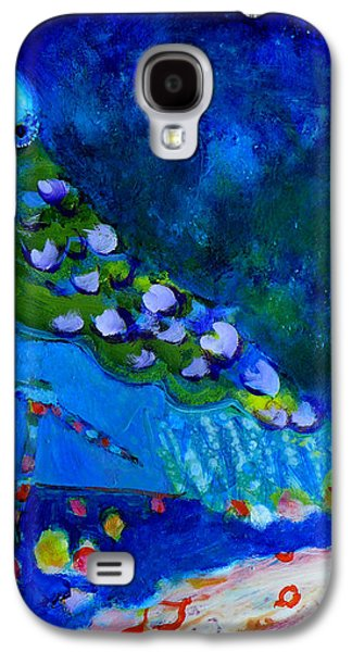 Constellations Paintings Galaxy S4 Cases - Bejeweled Galaxy S4 Case by Valerie Erichsen Thomson