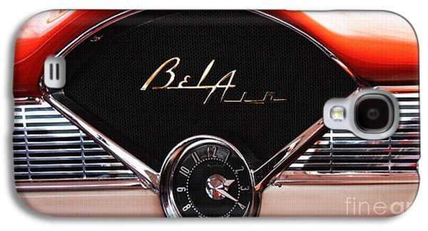 Shower Head Galaxy S4 Cases - Bel Air Beauty - Vintage American Car in Red and Chrome Galaxy S4 Case by ArtyZen Studios - ArtyZen Home