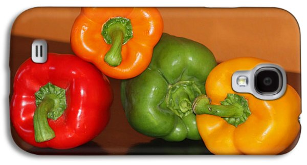 Kitchen Photos Galaxy S4 Cases - Bell Pepper Still Life Galaxy S4 Case by Art Block Collections