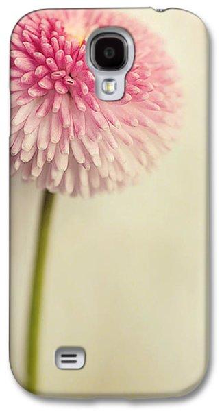 Textured Floral Galaxy S4 Cases - Bella Bellis Galaxy S4 Case by Priska Wettstein