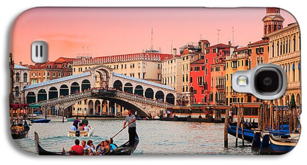 Recently Sold -  - Landscapes Photographs Galaxy S4 Cases - La Bella Canal Grande Galaxy S4 Case by Inge Johnsson